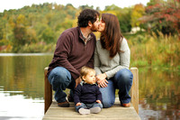Ashley, Adam & Logan - Fall session